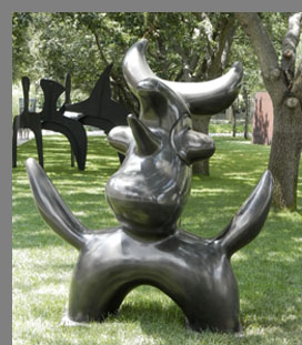 Moonbird Sculpture - Nasher Sculputre Center - photo by Luxury Experience
