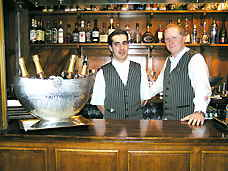Bartenders at Bovey Castle