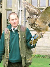 Martin Whitley and Merlin