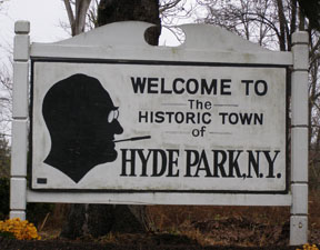 Welcome to Hyde Park, New York