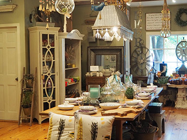 Boutique shops - Emerson Resort & Spa - Mt. Tremper, NY - photo by Luxury Experience