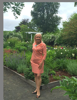 Debra C. Argen at Florence Griswold Museum - Old Lyme, CT, USA - photo by Luxury Experience