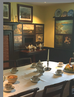 Dining Room - Florence Griswold Museum - Old Lyme, CT, USA - photo by Luxury Experience