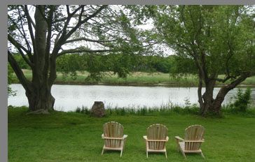 River view - Florence Griswold Museum - Old Lyme, CT, USA - photo by Luxury Experience