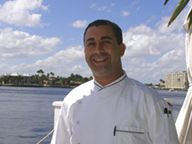Chef G (Djillali Mezali) of The Secret Garden at The Pillars at New River Sound, Fort Lauderdale, Florida