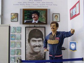 International Swimming Hall of Fame, Fort Lauderdale, Florida - Mark Spitz Memorabilia