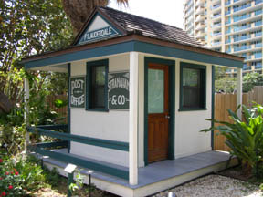 Stranahan House, Fort Lauderdale, Florida - Post Office