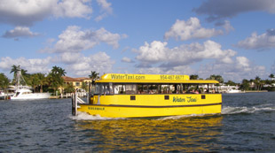 Water Taxi, Fort Lauderdale, Florida