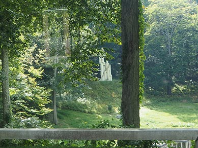 View from inside The Glass House - photo by Luxury Experience