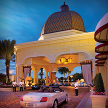 Acqualina Porte Cochere Entrace