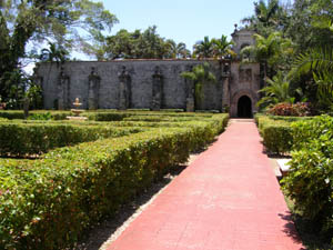 Ancient Spanish Monastery, Sunny Isles Beach, Flordia