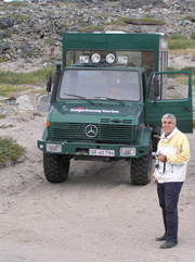Going off Road in Kangerlussuaq, Geenland  to Ice Cap