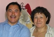 Inuit Couple from Ilimanaq Settlement