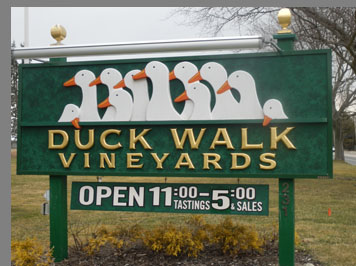 Duck Walk Vineyards - photo by Luxury Experience
