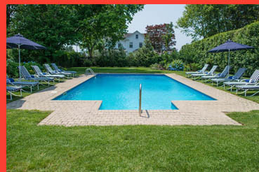 Swimming Pool - White Fences Inn,  Water Mill, New York, USA