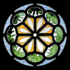 Union Church  of Pocantico Hills - Henri Matisse - Rose Window