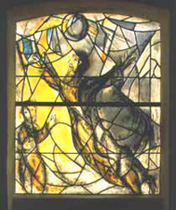 Union Church  of Pocantico Hills - Marc Chagall - Daniel Window