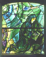 Union Church  of Pocantico Hills - Marc Chagall - Joel Window