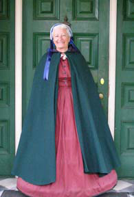 Docent Barbara Williams - Washington Irving - Sunnyside, Irvington, NY - Photo by Luxury Experience