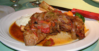 Braised Lamb Shanks at Village Bistro, Tannersville, New York - Photo by Luxury Experience