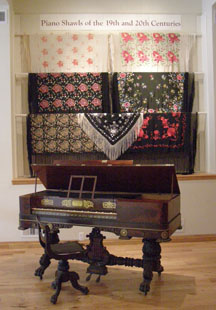 Piano Shawls at Piano Museum, Hunter, New York - Photo by Luxury Experience