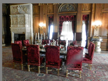 Dining Room - Vanderbilt Mansion - photo by Luxury Experience