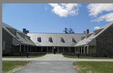 FDR  Library Museum, Hyde Park, NY - photo by Luxury Experience