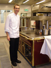 Chef Fridgeir Ingi Eriksson of The Gallery Restaurant, Hotel Holt, Reykjavik, Iceland - Photo by Luxury Experience