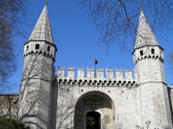 Topkapi Palace entrance gate - Istanbul, Turkey