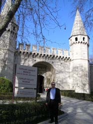 Edward F. Nesta at Topkapi Palace Museum