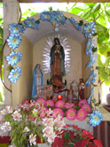 Shrine in Fishing Village - Ixtapa-Zihuatanejo, Mexico