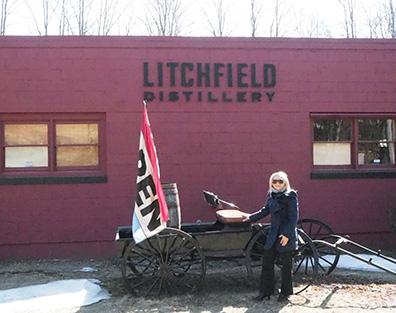 Litchfield Distillery, Debra C. Argen - Photo by Luxury Experience