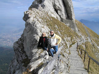 Lucern, Switzerland - Mount Pilatus - Debra C. Argen and Edward F. Nesta