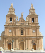 Church in Mellieha, Malta
