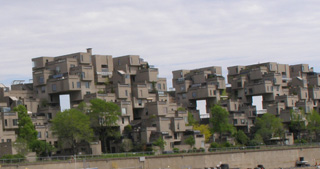 View from Le Bateau Mouche - Habitat 67 - Photo by Luxury Experience