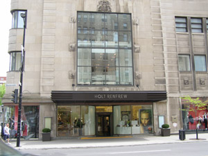 Holt Renfrew, Montrea, Canada - Photo by Luxury Experience