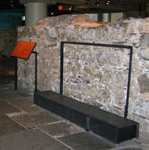Pointe a Calliere Musee Archeologie Montreal Old Wall, Montreal, Canada - Photo by Luxury Experience