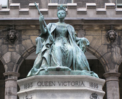 Queen Victoria at Strathcona Music Building, Montreal, Canada - Photo by Luxury Experience