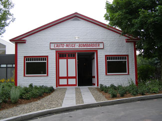 First Garage at J. Armand Bombardier Museum, Valcourt, Canada - photo by Luxury Experience
