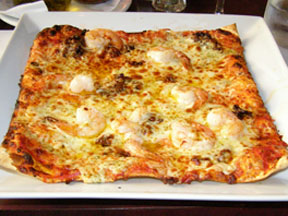 Pizzedelic, Montreal, Canada - California Shrimp Pizza - Photo by Luxury Experience