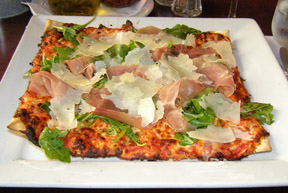 Pizzedelic, Montreal, Canada - Rocket & Prosciutto Pizza - Photo by Luxury Experience