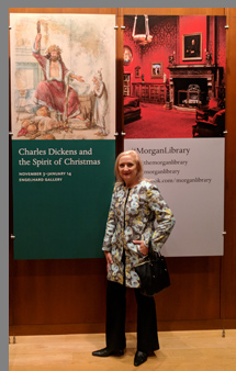 Debra C. Argen at The Morgan Library - photo by Luxury Experience