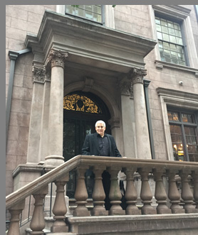 Edward F. Nesta at The Morgan Library NYC - photo by Luxury Experience