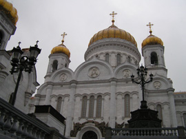 Moscow, Russia - Cathedral of Christ the Savior
