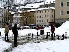 Salzburg Chess Board