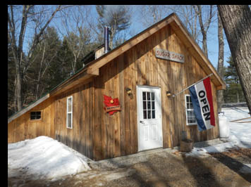 100 Acre Woods Sugar Shack - Intervale, New Hampshire - photo by Luxury Experience