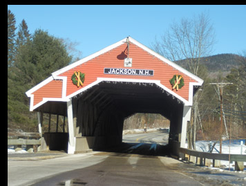Covered Bridge - Jackson, New Hampshire - photo by Luxury Experience