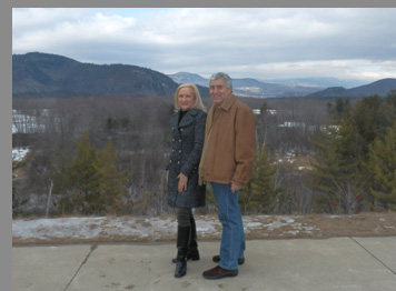 Debra C. Argen and Edward F. Nesta - Mt. Washington, NH - photo by Luxury Experience