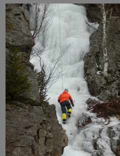 Ice Climber - New Hampshire, USA - photo by Luxury Experience