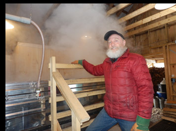 Maple Syrup steam - photo by Luxury Experience
